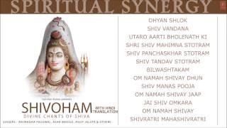 Spiritual Synergy Shivoham Divine Chants of Shiva HINDI Anuradha Paudwal [Full Audio Songs Juke Box]