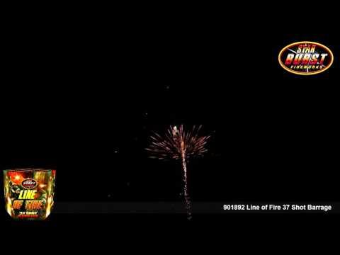 901892 Line of Fire 37 Shot Barrage
