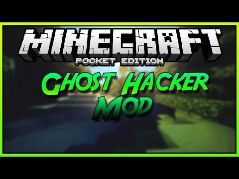 ✖[0.13.1] MCPE Ghost Hack Tutorial