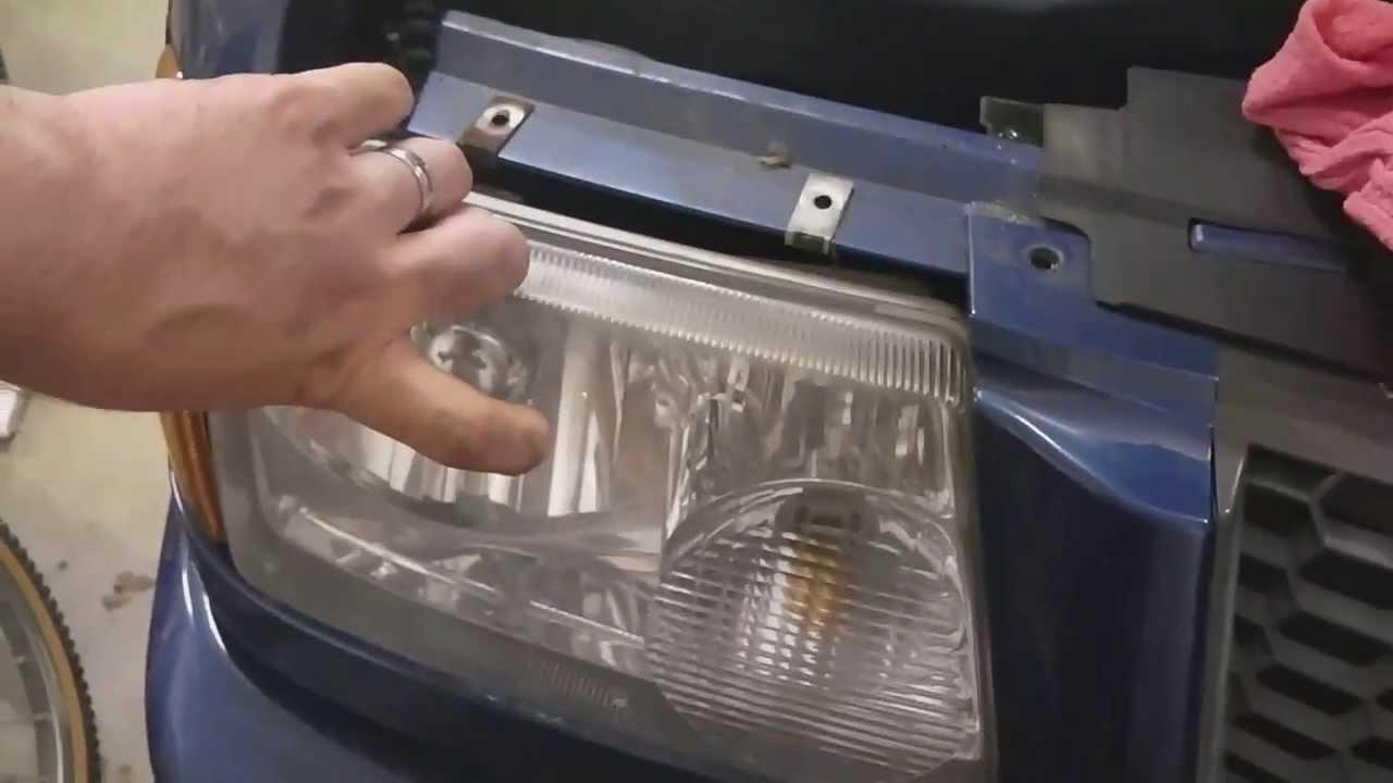 Ford Ranger Replace Headlight Bulbs Mazda B