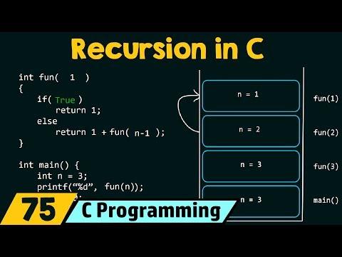 Recursion in C thumbnail