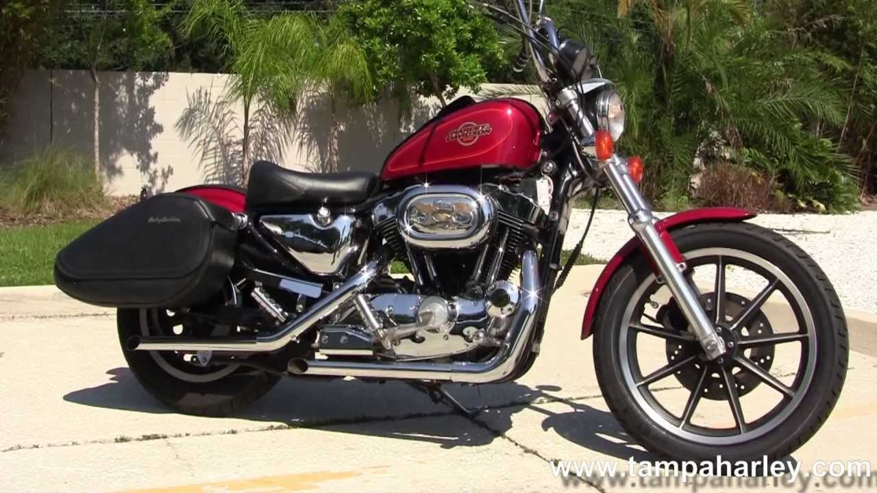 Used Harley Davidson Sportster Saddlebags