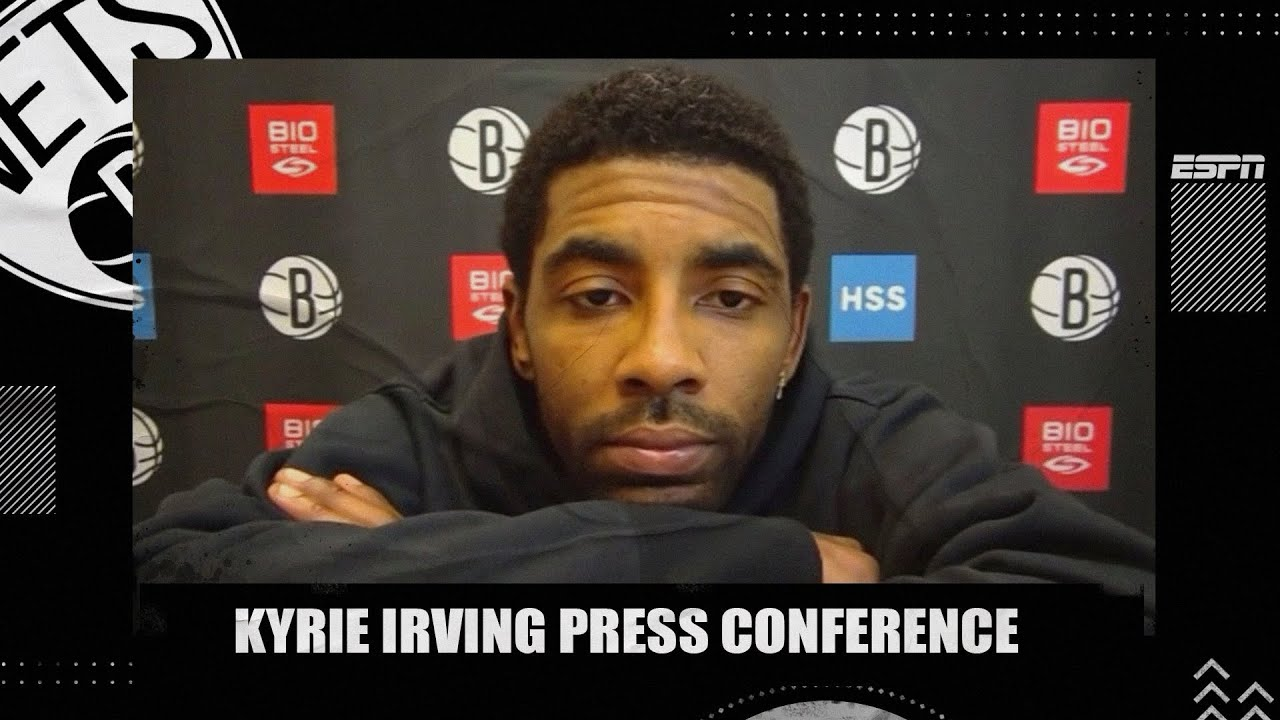 Back with Nets after seven-game absence, Kyrie Irving says he 'just ...