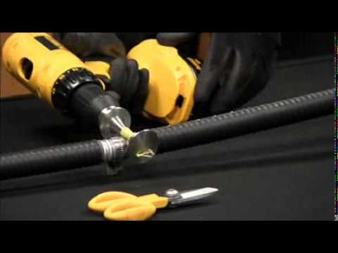 HYBRIFLEX™- How to remove armor from a HYBRIFLEX™ cable