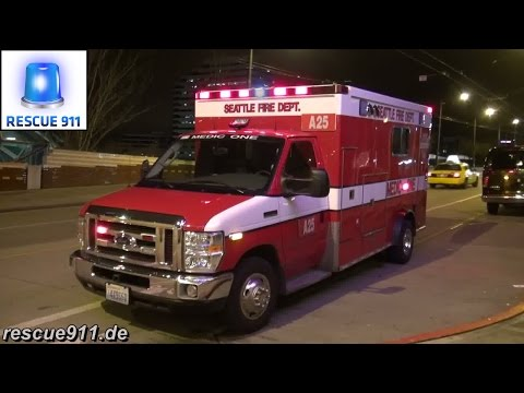 [Ride along] Aid 25 Seattle Fire Department