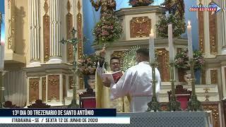 13º DIA DO TREZENARIO DE SANTO ANTÔNIO