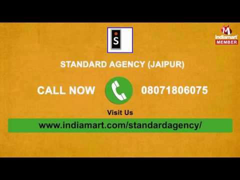 Industrial Products by Standard Agency, Jaipur