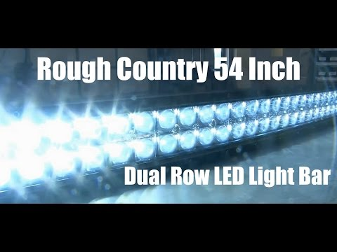 Rough Country 54 Inch Curved Dual Row Cree Led Light Bar Tutorial And Review Unboxing Video