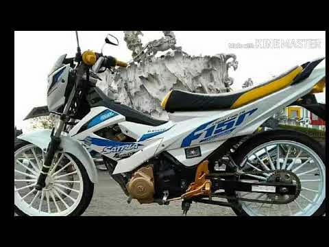 Satria Fu Roadrace 6 Tampilan Garang Modifikasi Motor Road