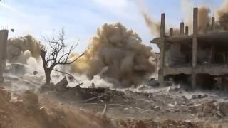 Военные действия в Сирии.