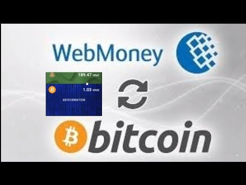 How To Exchange Webmoney To Bitcoin | Simple\u0026Secure Steps | Webmoney To Btc