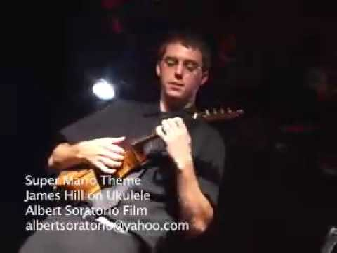 James Hill playing Super Mario Theme (Ukulele)