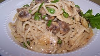 Chicken Mushroom Alfredo - Ruby Tuesday's Gluten Free Copycat
