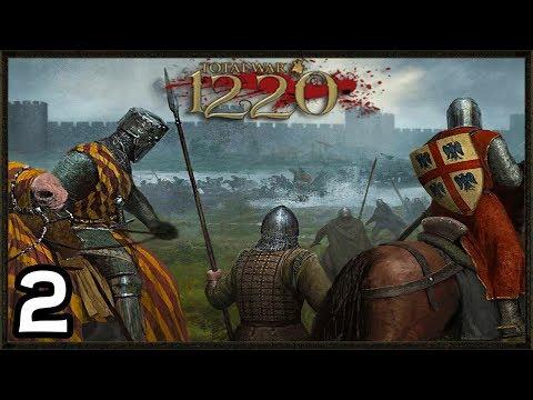 MEDIEVAL Europe At War! - Total War: 1220 Mod Gameplay  #2