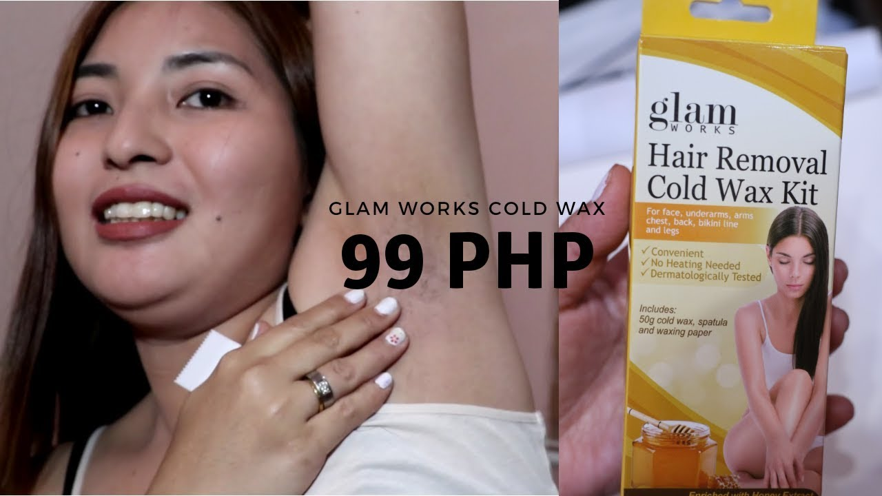 Ayur Cold Wax Review Demo Waxing At Home Remove Body Hair At