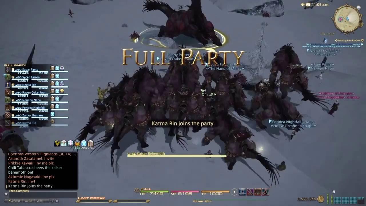 Ffxiv behemoth fate timer