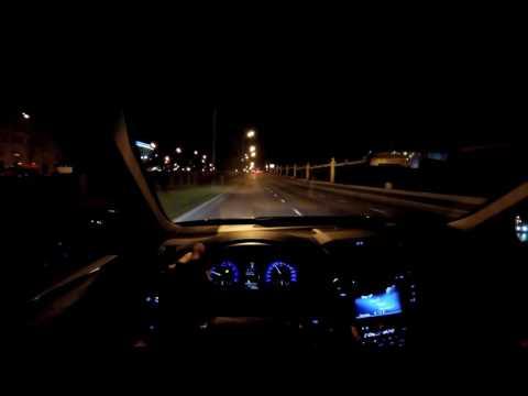 Разрываем ночь с Toyota Camry V6 - болтовня в движении (60p)