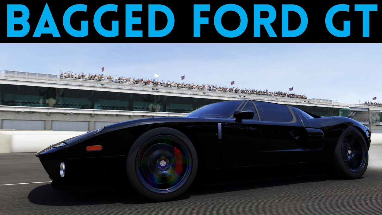 Forza motorsport 6 gas monkey garage bagged ford gt for Garage ford bretigny