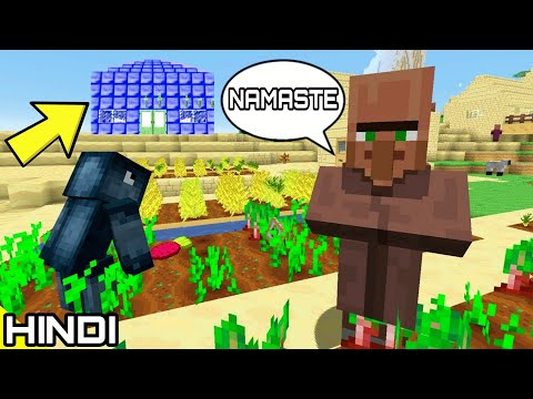 I visited a 'MINECRAFT VILLAGE' #2 | KrazY Gamer |