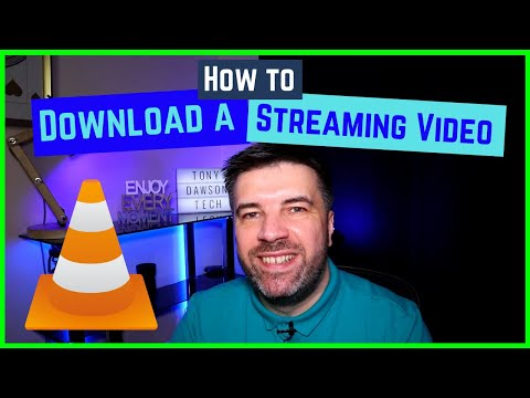 Download streaming video with VLC