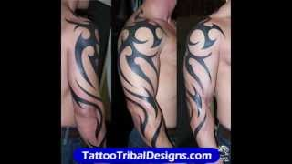 Video Tribal Arm Tattoos for Men download MP3, 3GP, MP4, WEBM, AVI, FLV Juli 2018