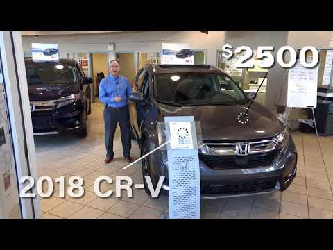 $2500 Rebate On 2018 CR-V