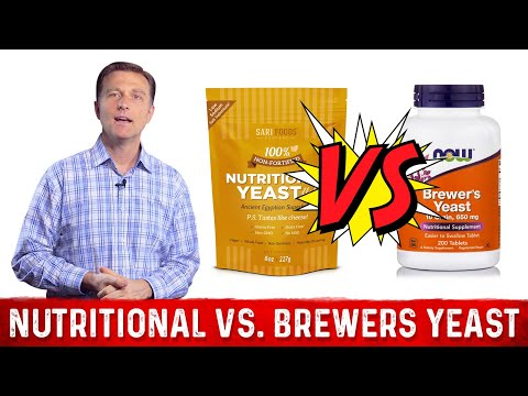 Nutritional Yeast vs. Brewers Yeast