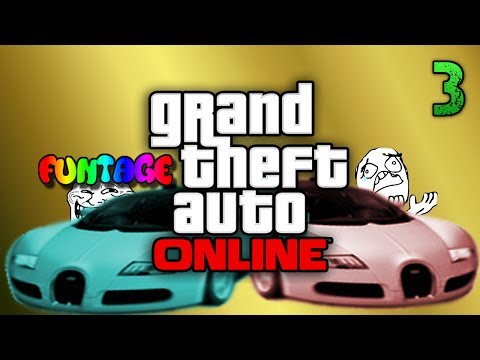 Gta 5 ONLINE funtage, racing, cheeses map and bursting tires XD