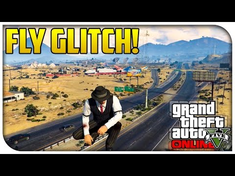 GTA 5 Online FLYING GLITCH! - Funny Glide Animation Glitch! (How To / Tutorial) [GTA V]