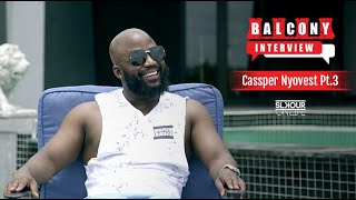 #BalconyInterview (3/3): Cassper Nyovest On Why He Works So Hard, Saving & Getting Into Marketing