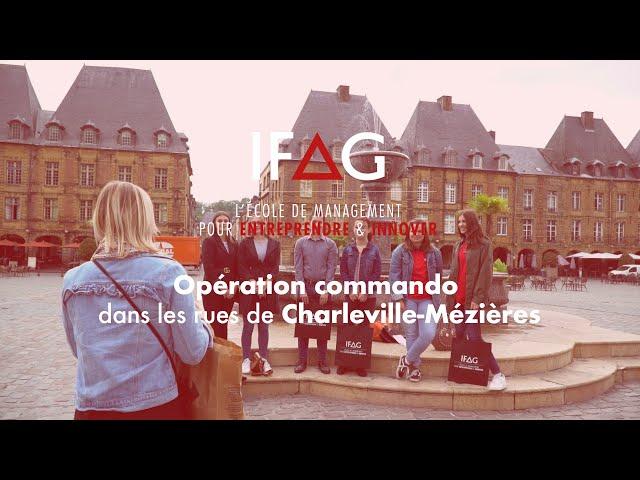 IFAG Charleville-Mézières - Opération commando