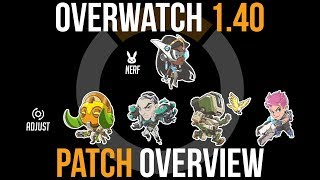 Overwatch Patch 1.40 Overview