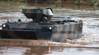 Blindado M113 - Flutuação - Exército Brasileiro - (FullHD)