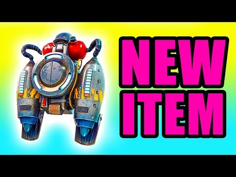 NEW Jetpack Update! ⚠️ Fortnite Jetpack Battle Royale Gameplay PC