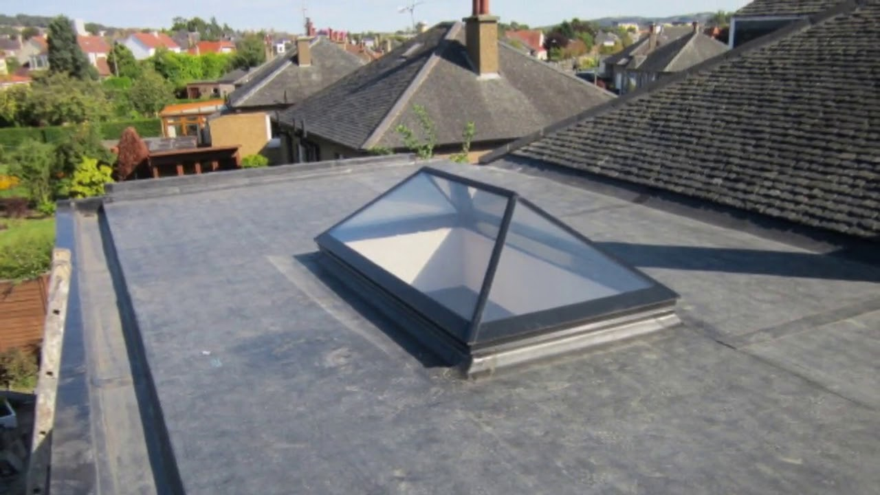 Rubber Flat Roof Covering At Home Ideas