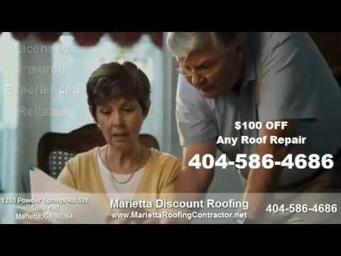 Marietta Roofing Contractor $250 OFF Roof Replacement in Marietta GA 30064