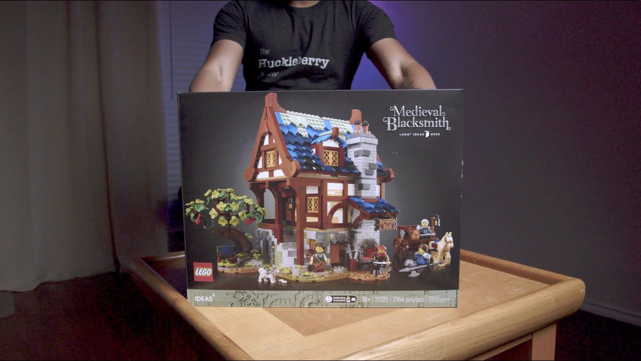 LEGO Sort and Build: Medieval Blacksmith 4K