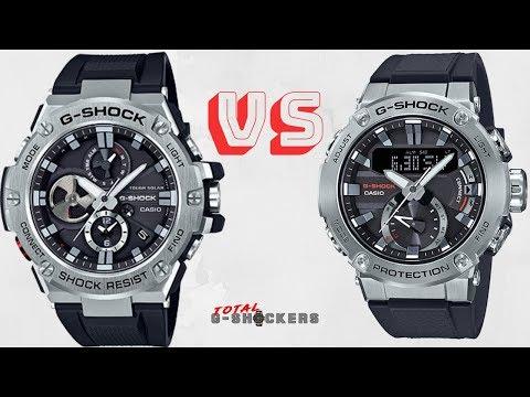 Casio G-Shock GSTB100-1A Vs G-Shock GSTB200-1A | G-STEEL Comparison