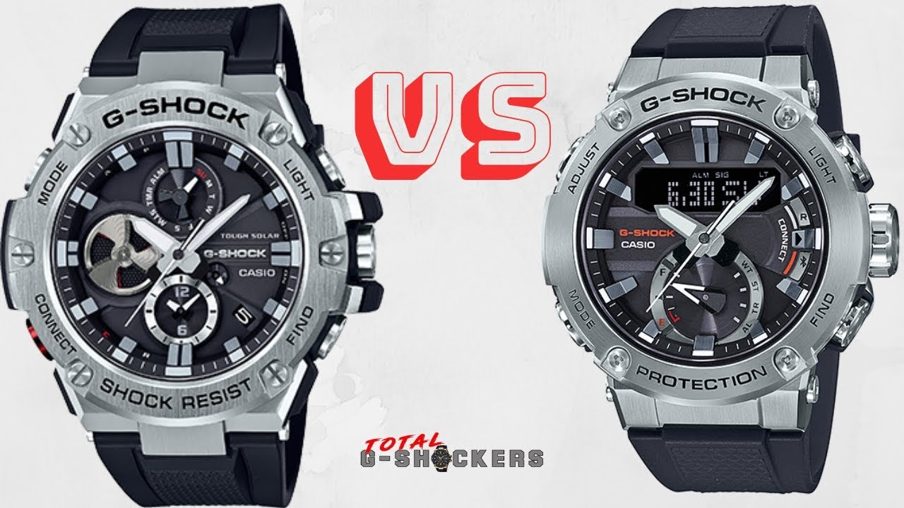 Casio G Shock Gstb100 1a Vs G Shock Gstb200 1a G Steel Comparison