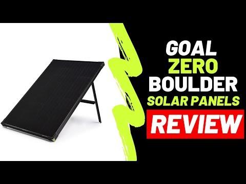 Goal Zero Boulder Solar Panels  Tech Video (REVIEW)