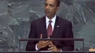 President Obama Addresses United Nations For First Time-Full Video