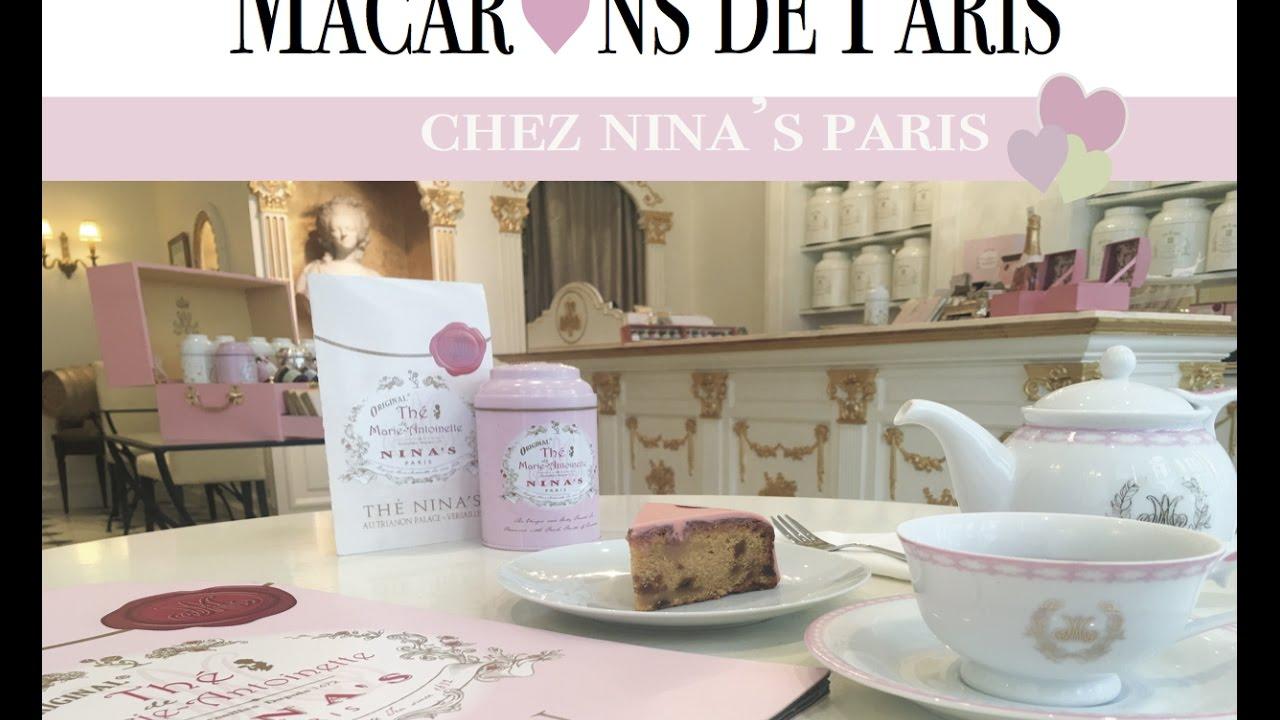 Nina 39 s paris le salon de th de marie antoinette coup for Salon de marie