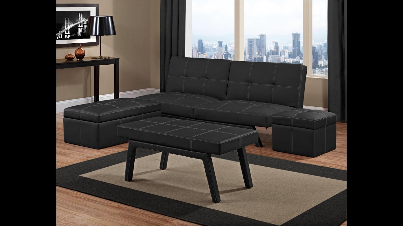 Delaney Splitback Futon YouTube