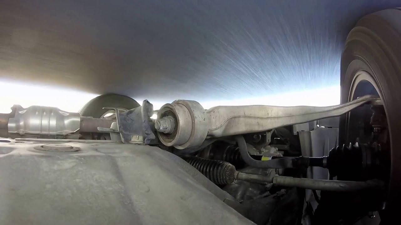 Honda Pilot Lower Control Arm Bushing Youtube