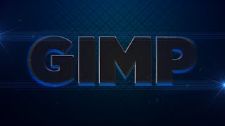 How to make an awesome lens distortion text effect in Gimp