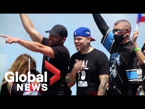 Ricky Martin, Calle 13 Take Part In Anti-Rossello Protests In Puerto Rico