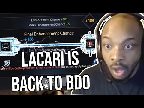 LACARI RETURNS TO BDO!!!