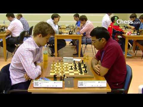 Magnus Carlsen vs Vishy Anand: World Blitz Championship!