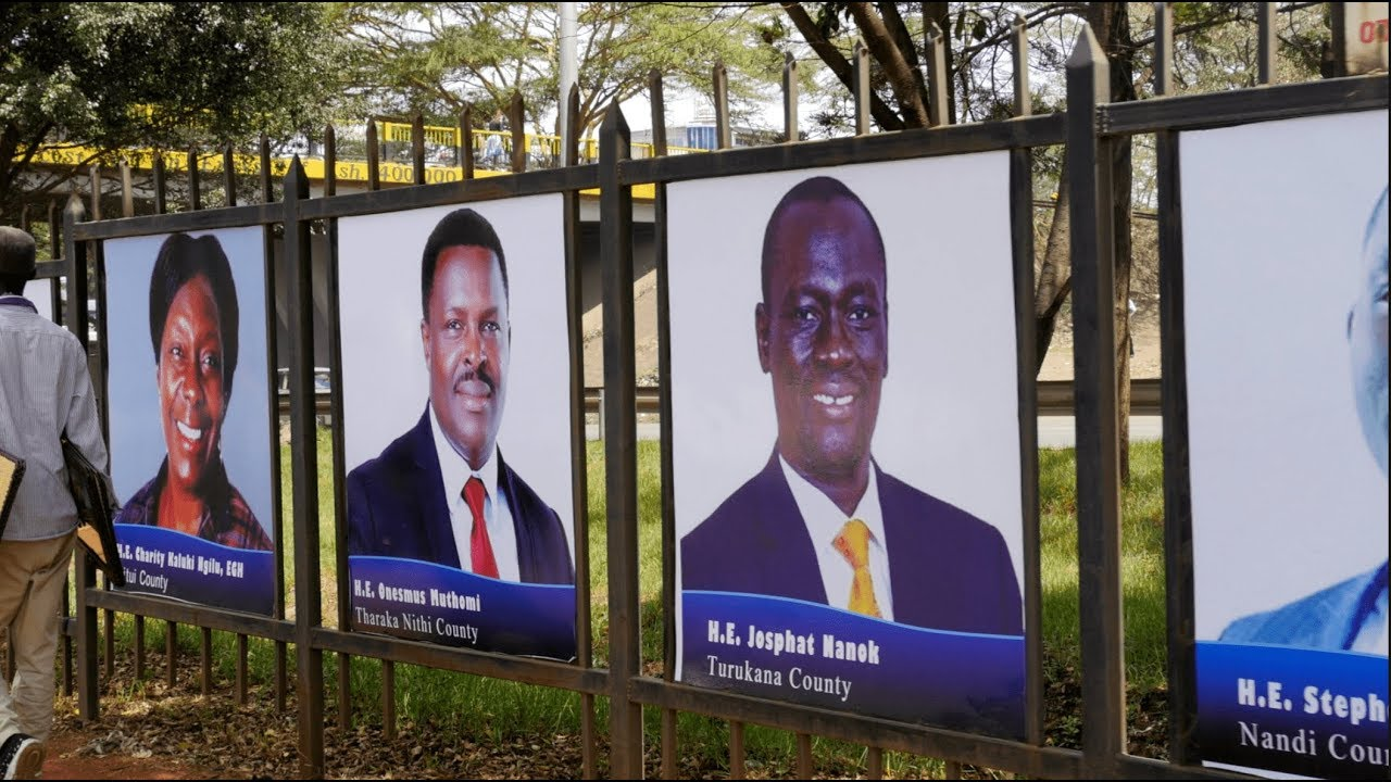 Shame Of Error Ridden Posters Which Sonko Put Up Along Mombasa Road