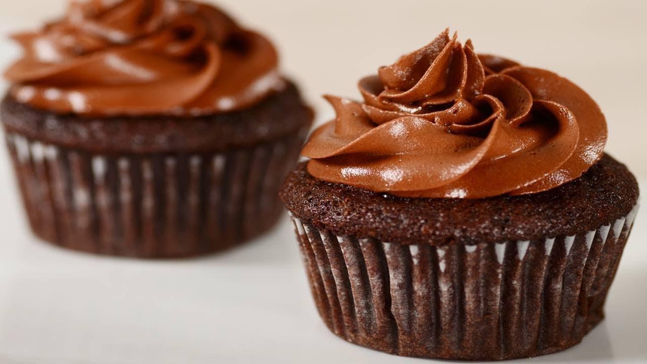 Banana Chocolate Cupcakes Recipe - Joyofbaking.com *Video Recipe*